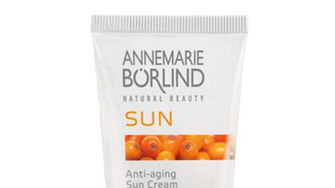 Crema de soare anti-aging si gelul dupa plaja Annemarie Börlind