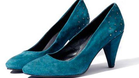 Pantofi din piele intoarsa Reserved