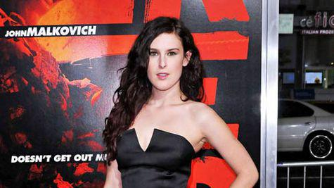 Rumer Willis, imaginea Badgley Mischka