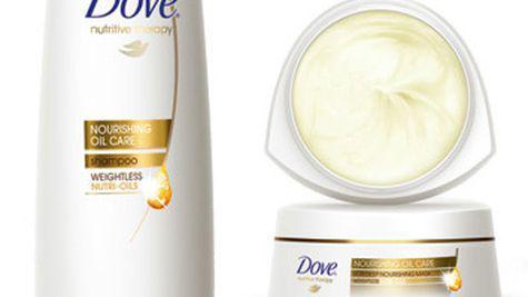 Noua gama Dove Nourishing Oil Care