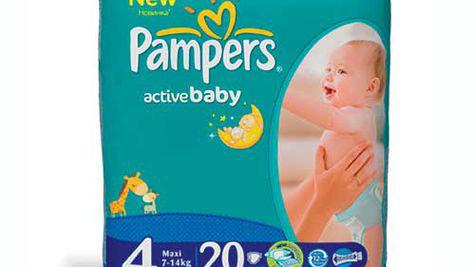 Noile scutece Pampers Active Baby