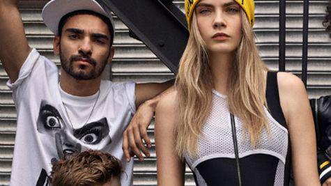 Cara Delevingne X DKNY a ajuns in magazine