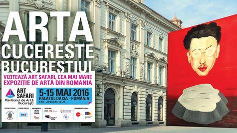 ELLE te invita la Art Safari, cea mai mare expozitie de arta din Romania