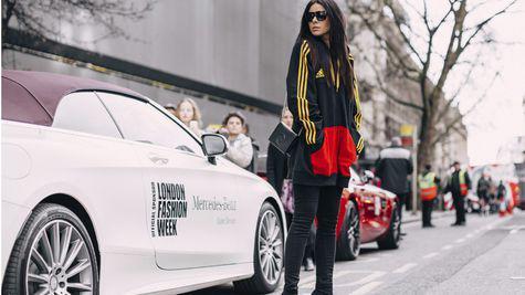 Best streetstyle looks @ Saptamana Modei de la Londra