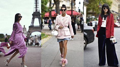 Moda strazii la Paris Fashion Week Spring 2018