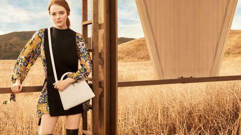 Prima campanie Emma Stone pentru Louis Vuitton