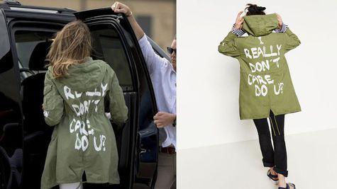 melania-trump-jachetă cu mesaj