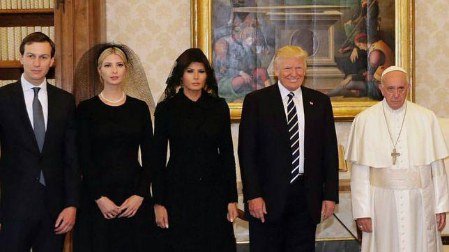 Donald Trump si Papa Francisc