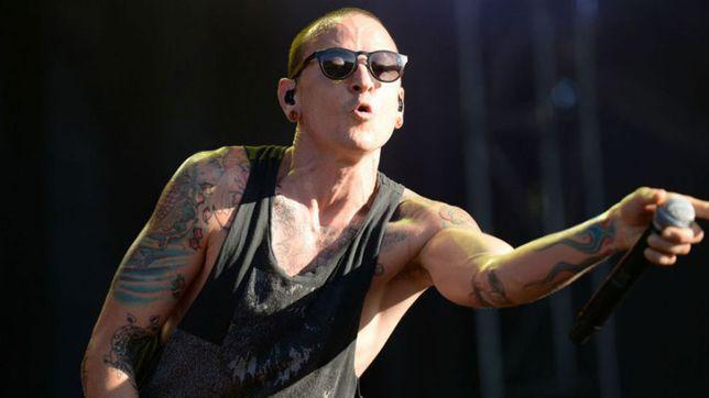 Chester Bennington, solistul trupei Linkin Park,