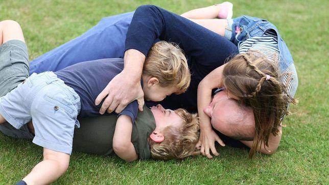 Prințul William și cei trei copii