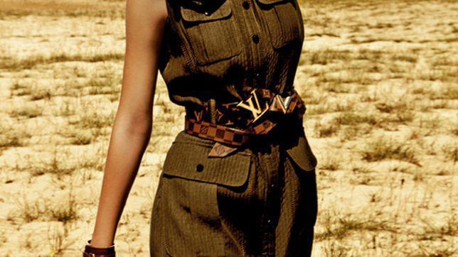 Editorial fashion: Campanie in Africa