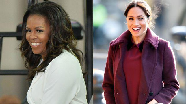 Michelle Obama i-a dat un sfat important lui Meghan Markle despre maternitate
