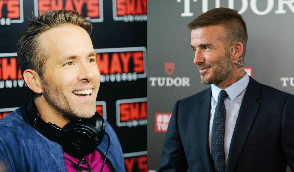 David Beckham si Ryan Reynolds